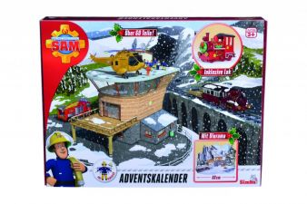 simba toys feuerwehrmann sam adventskalender das spielzeug. Black Bedroom Furniture Sets. Home Design Ideas