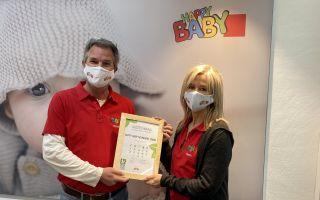 Auszeichnung für HappyBaby, Neumarkt