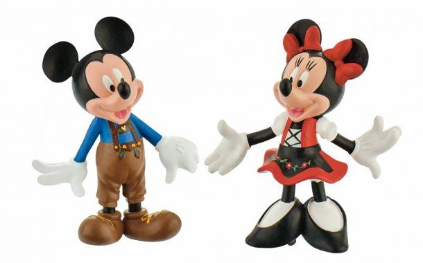 Micky und Minnie im Bavaria Look