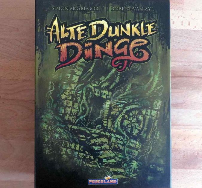 """""""Alte, dunkle Dinge"""" - Cover"""