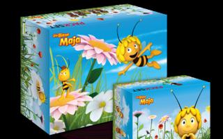 "Packsets der ""Die Biene Maja""-Sonderedition"
