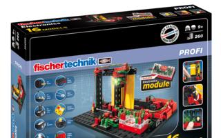 Aa-fischertechnik PROFI Electronics Verpackung