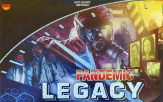 """Pandemic Legacy"" - Slider"