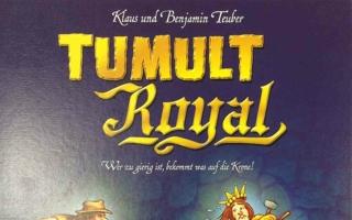 """""""Tumult Royal"""" - Slider"""