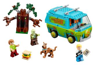 Lego_Scooby-Doo Mystery Machine