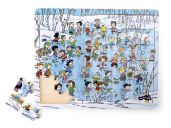 Legler Peanuts Puzzle Winter