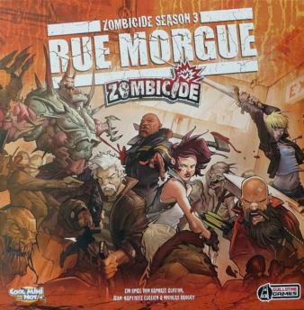 """""""Zombicide - Rue Morgue"""" - Cover"""