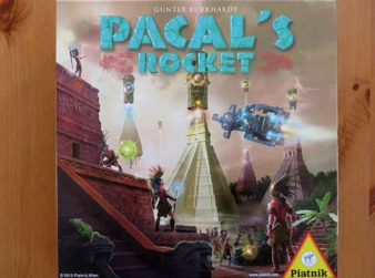 """Pacal's Rocket"" - Cover"