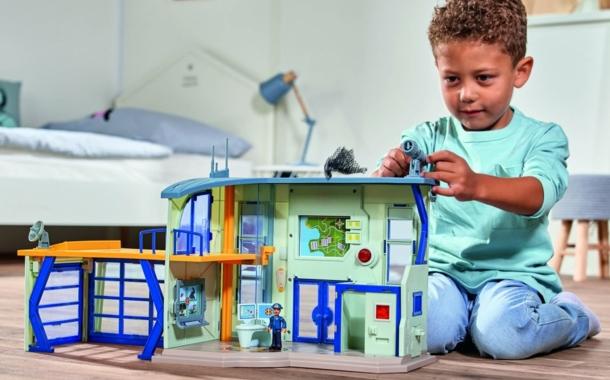 """Polizeistation """"Feuerwehrmann Sam"""" von Simba Toys"""