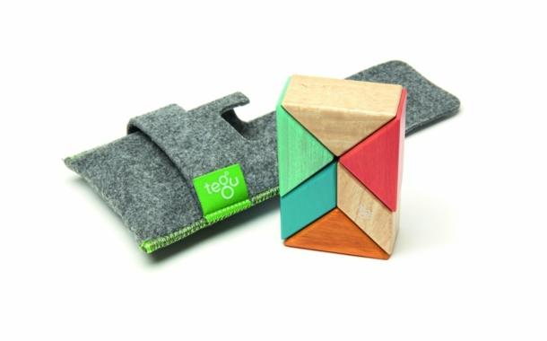 Magnetische Holzbausteine von Tegu