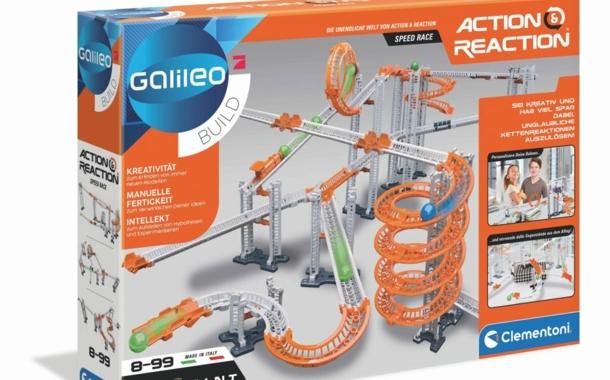 """""""Action & Reaction – Speed Race"""" Bau-Set von Galileo Build"""