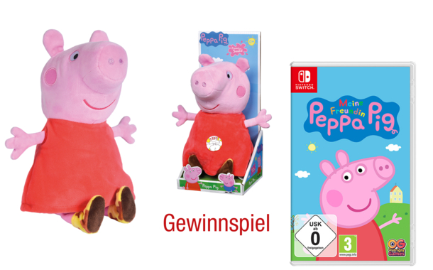 Gewinnspiel: Produktpaket Peppa Pig