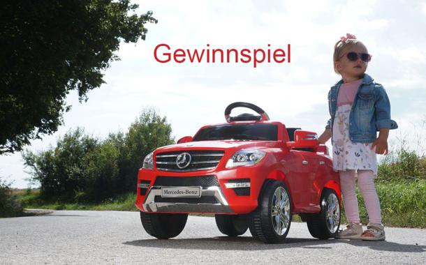 Gewinnspiel Elektro-Kinderfahrzeug