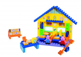 Big Peppa Pig School Set