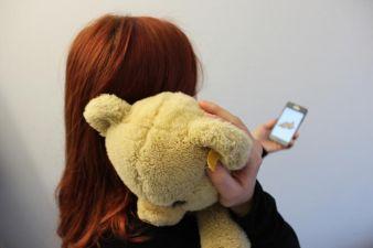 Kuscheltier statt Handy