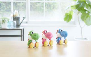 Ad-Nintendo_Amiibo Yoshi's Woolly World