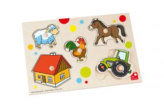 Bauernhof Puzzle Selecta