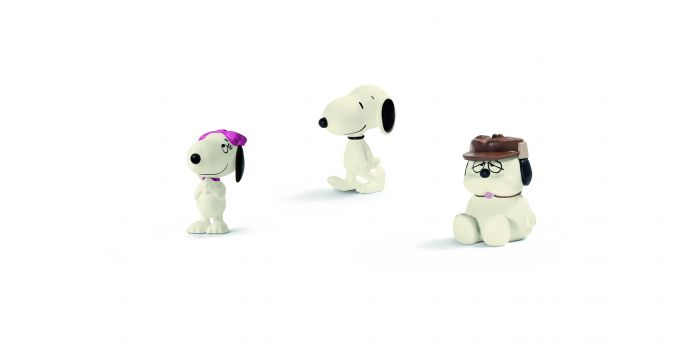 Peanuts_Snoopy and his siblings -®Schleich