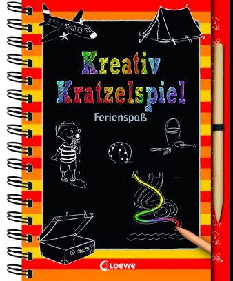 Loewe_Kreativ-Kratzelspiel Ferienspaß