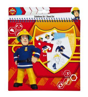 fireman-sam-schablonen-set