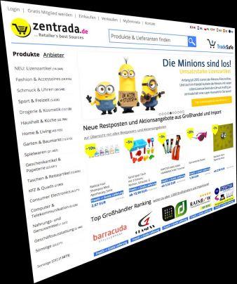 zentrada_Homepage