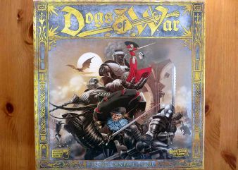 """Dogs of War"" - Cover"