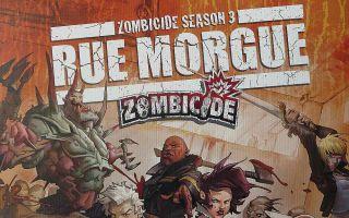 """Zombicide - Rue Morgue"" - Slider"