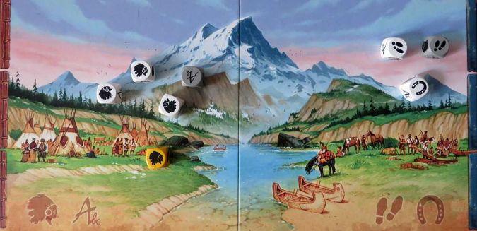 """Discoveries"" - Spielfeld"