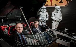 Mattel_Star Wars Darth Vader Auto