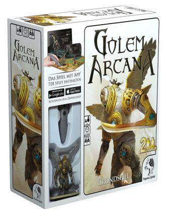 """""""Golem Arcana"""" - Cover"""