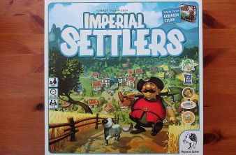 """Imperial Settlers"" - Cover"