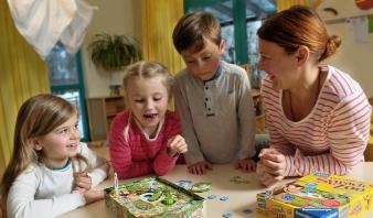 Ravensburger_Der verdrehte Sprach-Zoo Spielszene