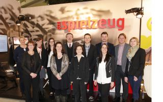 Standparty Gruppe