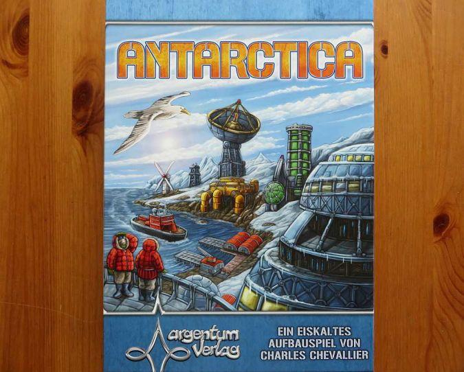"""""""Antarctica"""" - Cover"""