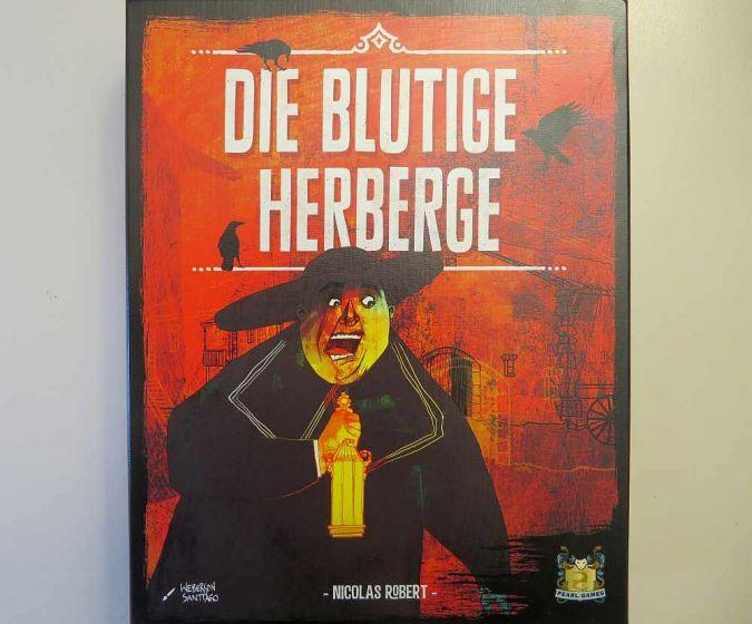 """""""Die blutige Herberge"""" - Cover"""