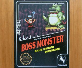"""Boss Monster"" - Cover"