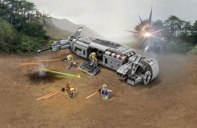 LEGO_Star Wars Resistance Troop Transporter