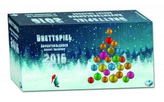 Frosted Games Brettspiel Adventskalender 2016
