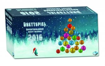 Frosted Games Brettspiel Adventskalender 2016