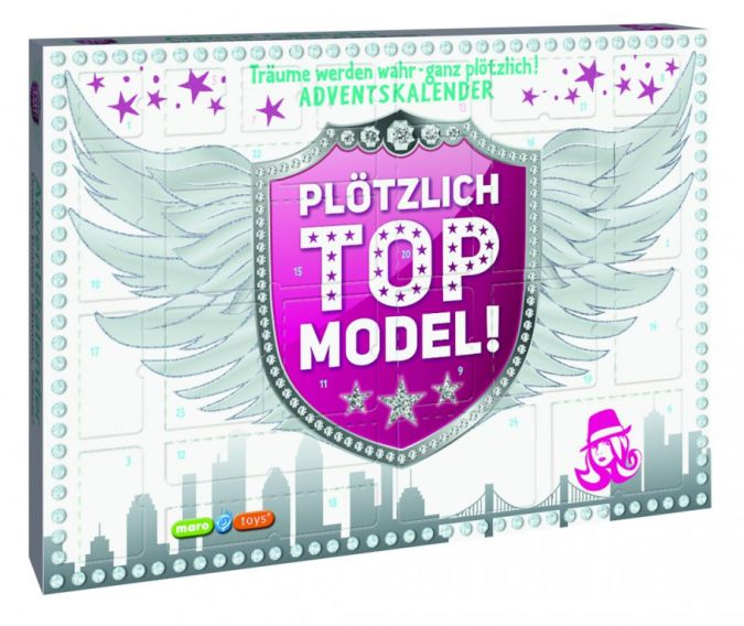 Maro Toys Adventskalender Plötzlich Top-Model