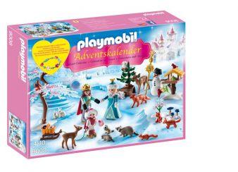 Playmobil Adventskalender Eislaufprinzessin im Schlosspark