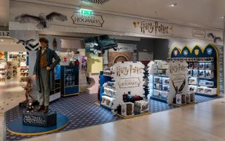 Harry Potter™-inspirierte Verkaufsfläche im KaDeWe