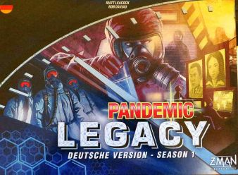 """Pandemic Legacy"" - Cover"