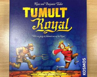 """Tumult Royal"" - Cover"