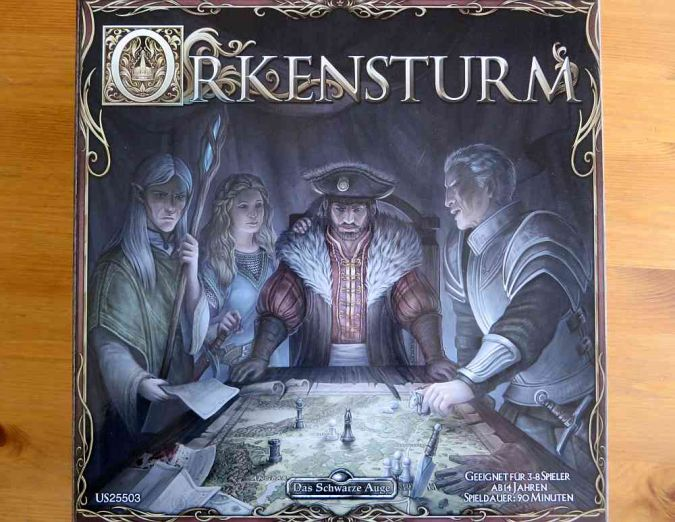 """Orkensturm"" - Cover"