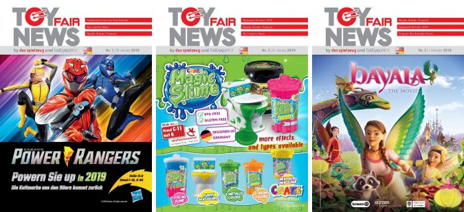 Toy Fair News 2019